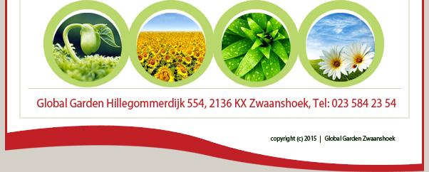 Global Garden - Hillegommerdijk 554, 2136 KX Zwaanshoel, Tel: 023 584 23 54